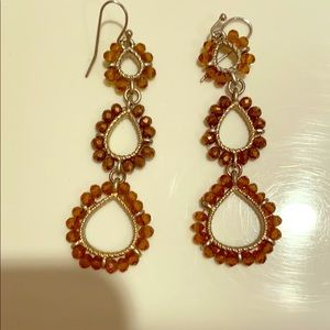 Gorgeous Lightweight Beaded Earrings